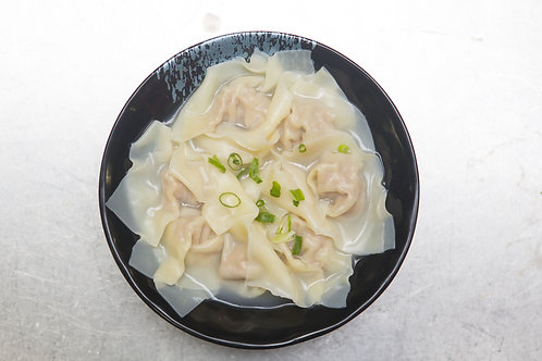 Pork wonton in chicken soup 6pc (84001)