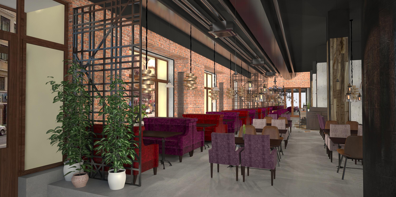 Ресторан обеденный зал