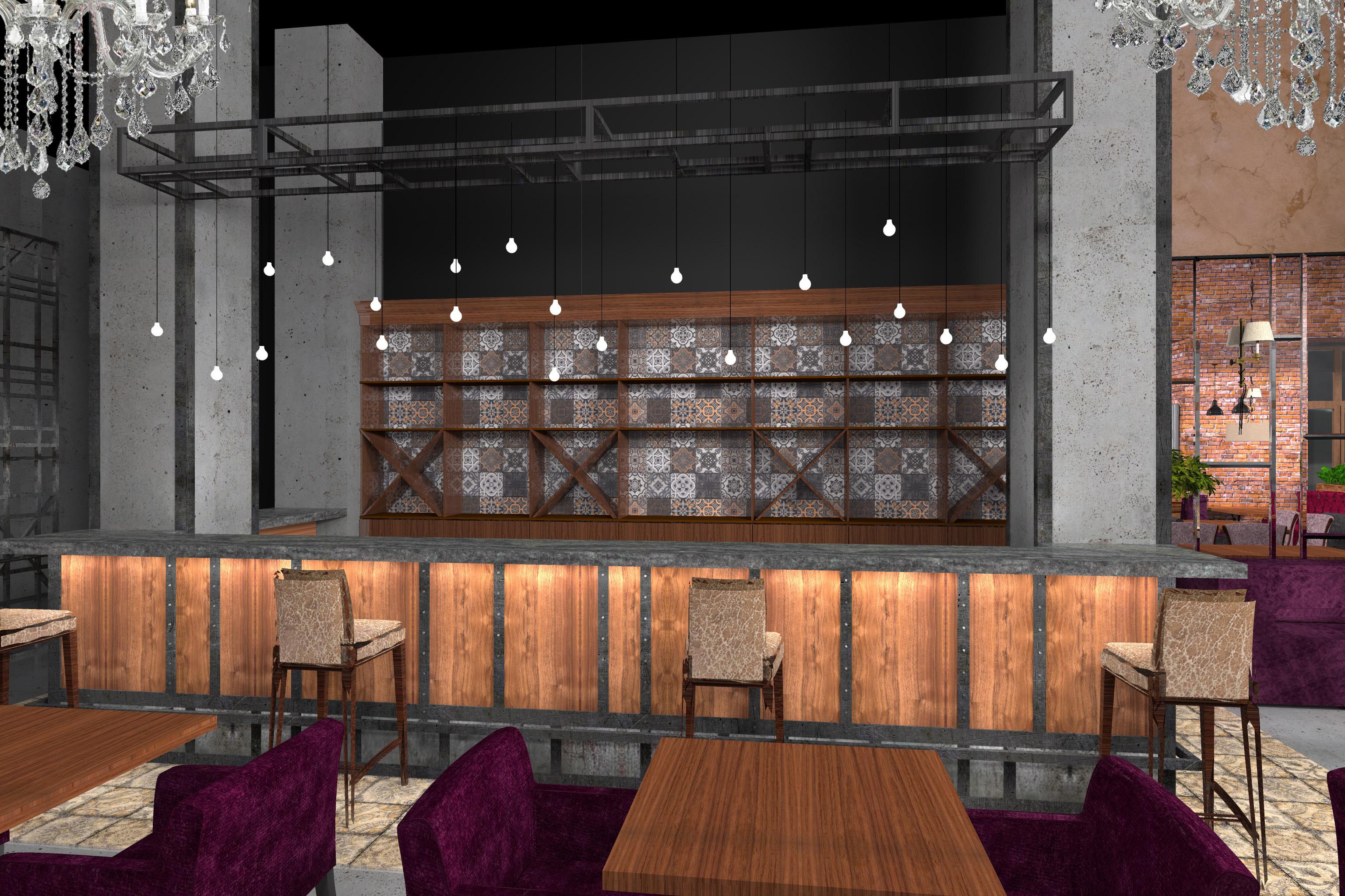 Ресторан - барная стойка