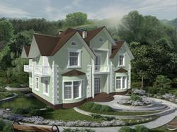 Жилой дом в классическом стиле