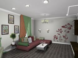 Гостиная_вид на диван