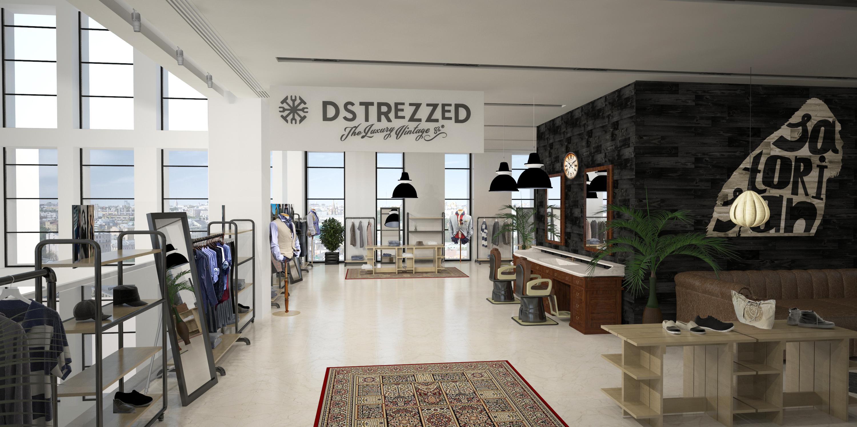Магазин одежды и barbershop