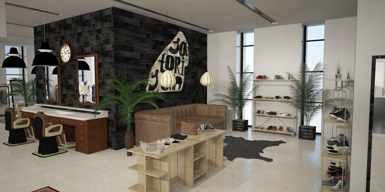 Магазин одежды и обуви