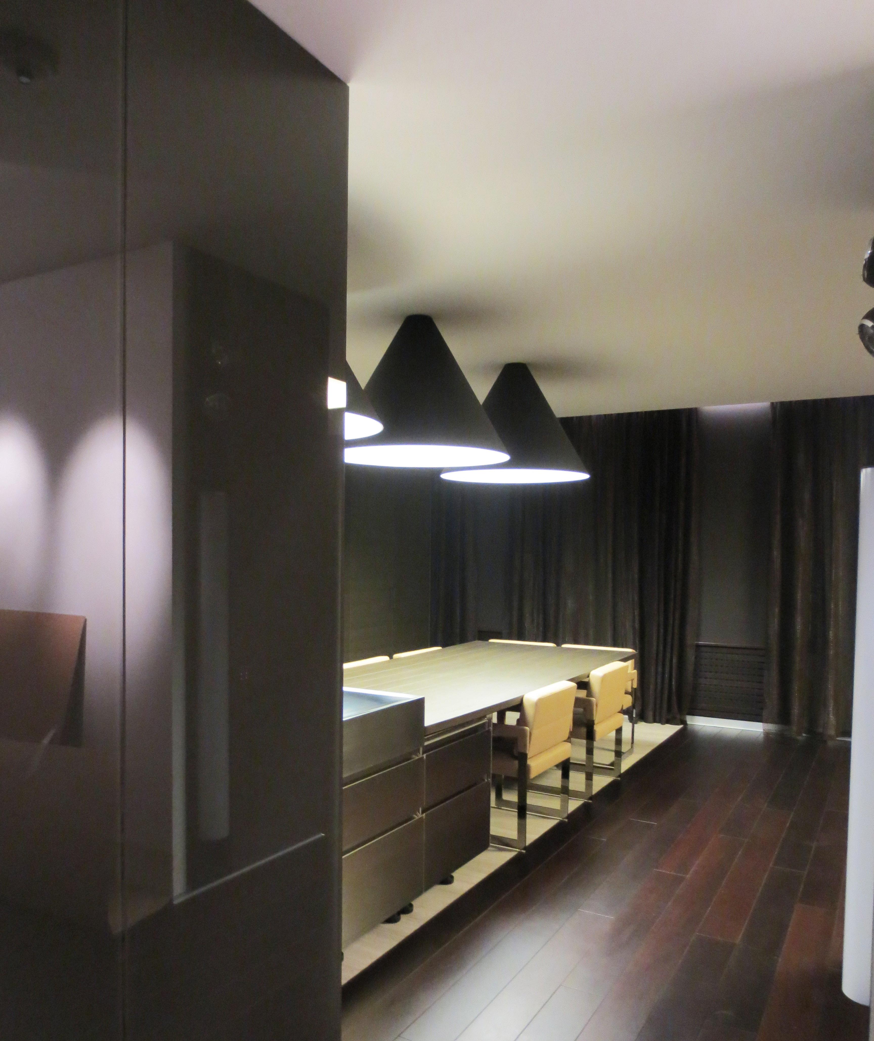 Кухня со шторами