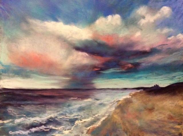 Sea & Sky Pastels.14x11ins
