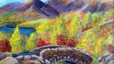 Ashness Bridge Acrylics. 40x30cms