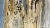 Keep the Faith. Mixed media & oil on canvas