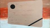 Helix 1 Acrylic & Gesso. 50.8x40.6cms
