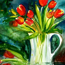 A Floral Splash