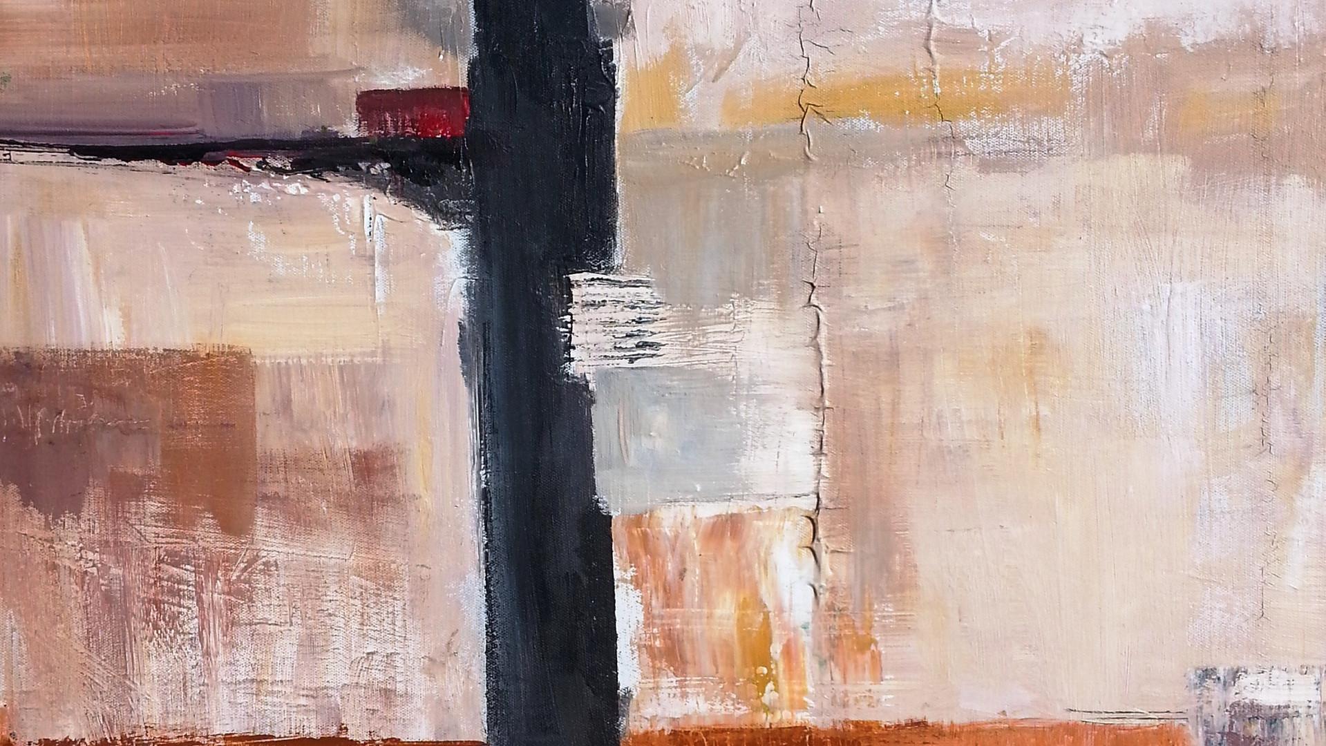 Desert Town Acrylics on box canvas. 60x80cms
