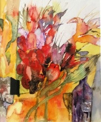 Tulips Watercolours