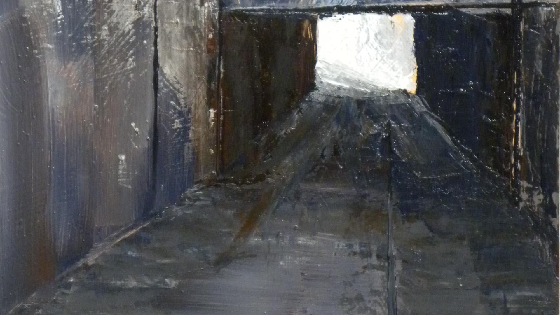 Inner Ring Road.            Oils. 31x21cms