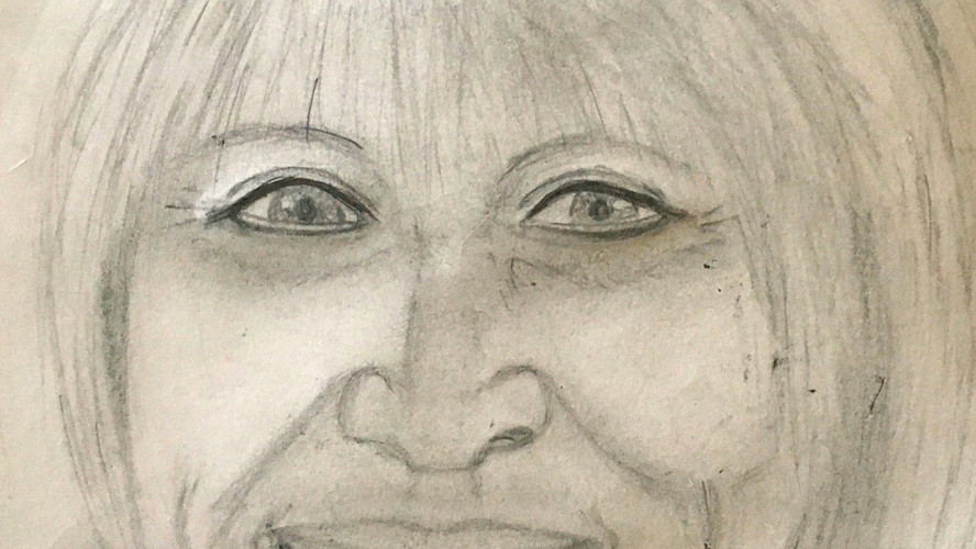 Portrait of Networker Pencil