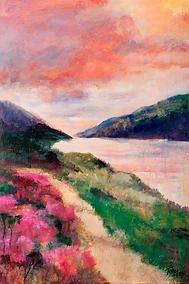 Light on Loch Leven