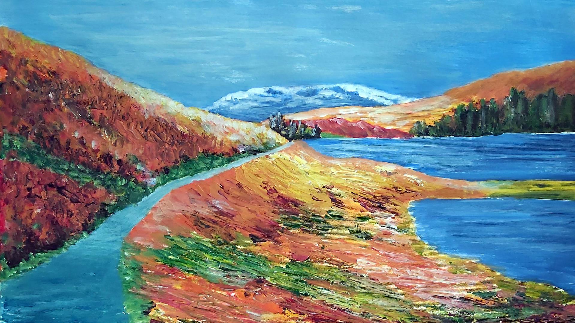 Lake District Acrylics