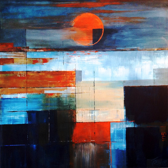 Steel River Sunset