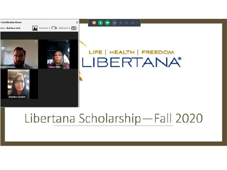 Twenty Students Awarded the Libertana Scholarship