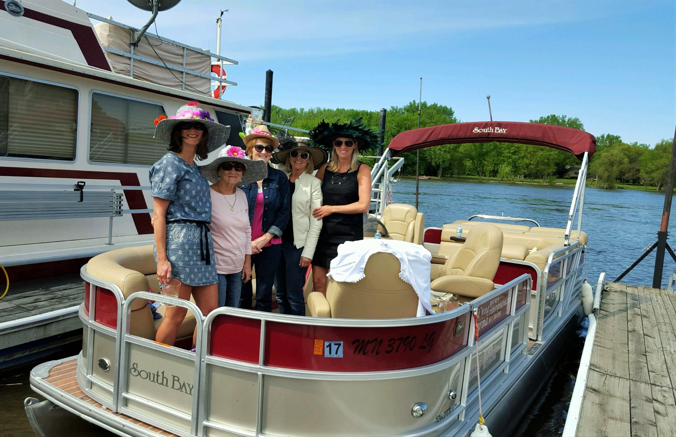 Derby Day Pontoon Ride