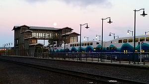 ST Mukilteo Sounder Commuter Rail Station South Platform