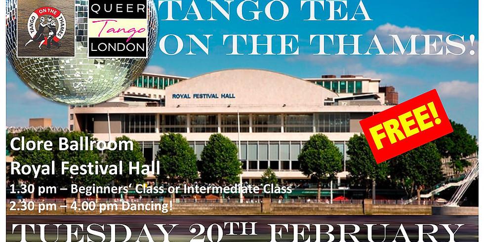 Tango Tea on the Thames