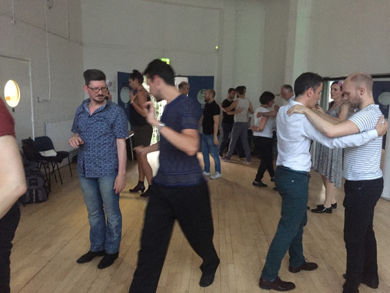 Guest teachers Vincent & Maxi