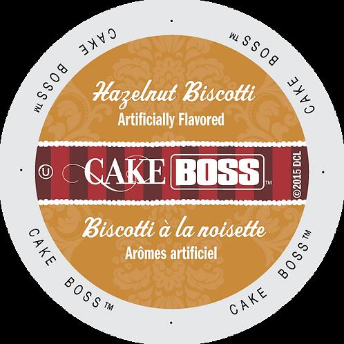 Cake Boss Hazelnut Biscotti