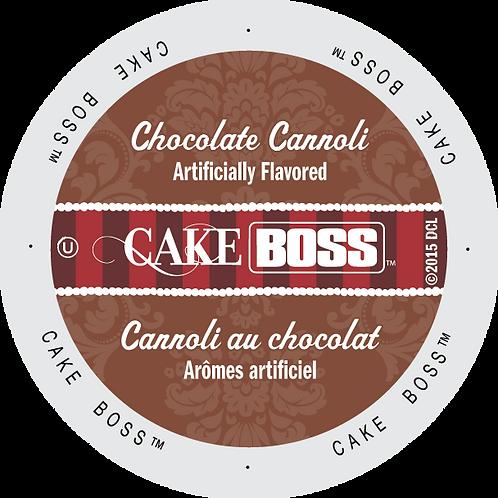 Cake Boss Chocolate Cannoli