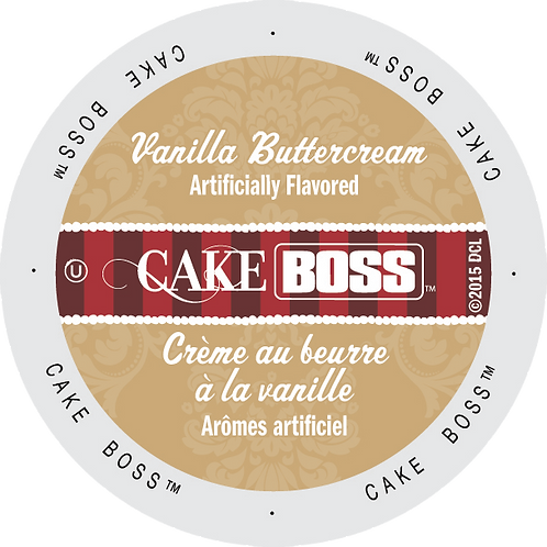 Cake Boss Vanilla Butter Cream