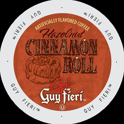 Guy Fieri Hazelnut Cinnamon Roll