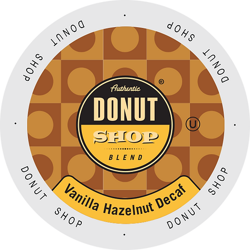 Donut Shop Vanilla Hazelnut Decaf