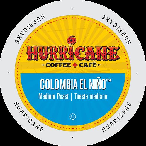 Hurricane Colombia El Niño