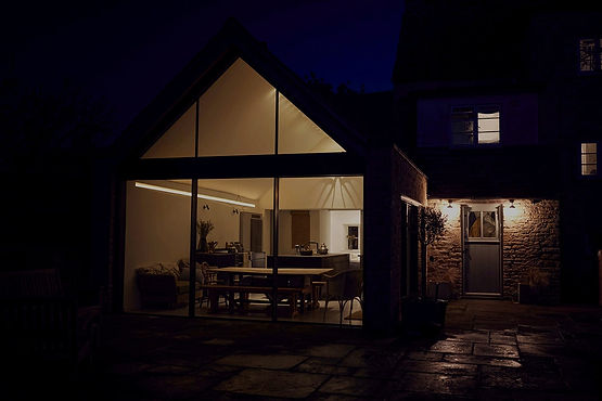 house extension to a London based property msbuilders