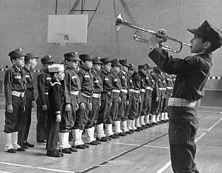 Young Marines in 1959