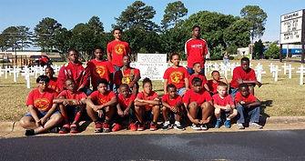 young marines at summer camp