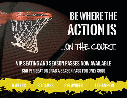 No excuses vip seating flyer