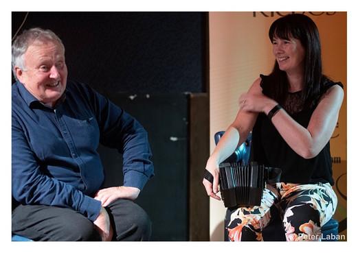 Mick Kinsella and Mary Liddy