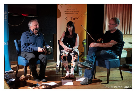 Mick Kinsella, Mary Liddy and Thierry Masure