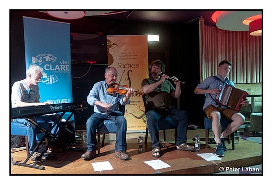 Brian McGrath, Tony Linnane, Eamonn O'Riordan and Conor Connolly