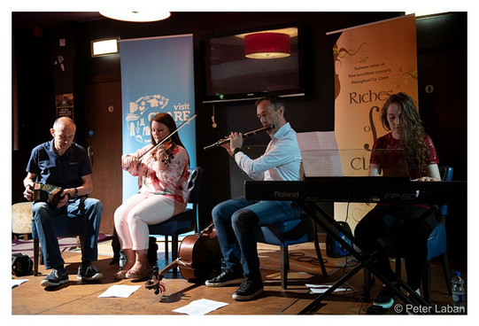 Tim Collins, Eimear Howley, Anthony Quigney and Sharon Howley