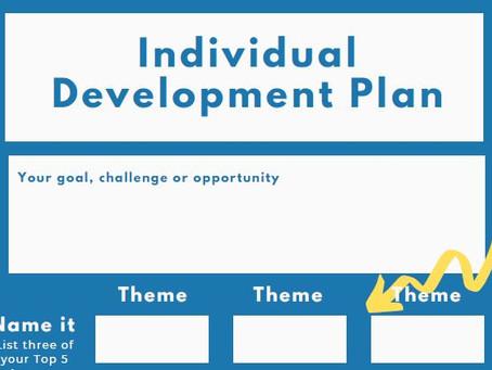 Individual Development Plan (IDP) - CliftonStrengths