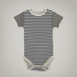 Grey Striped Onesie