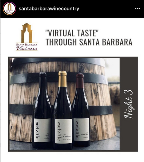 Santa Barbara County vintners talk wine while you drink and listen from your home