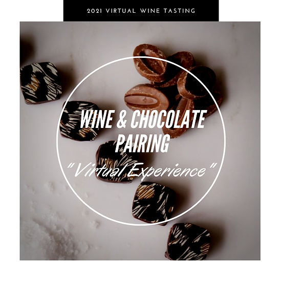 Virtual Wine & Chocolate Pairing