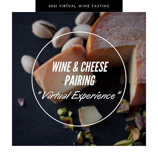Virtual Wine & Cheese Pairing