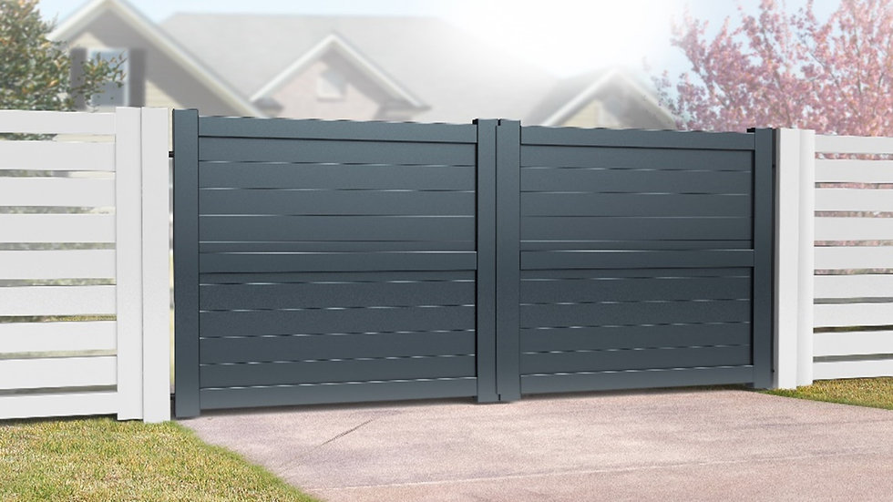 Worcestershire Aluminium Double Swing Gates