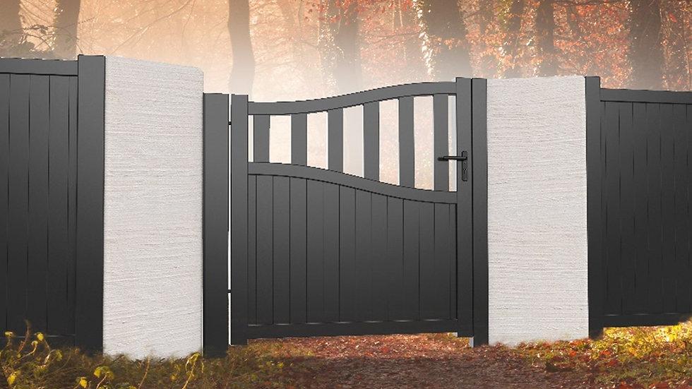 Wiltshire Aluminium Garden Gate