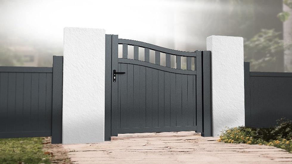 Derbyshire Aluminium Garden Gate