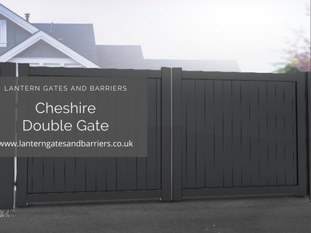 Cheshire Aluminum Double Gates