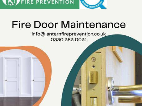 Fire Door Maintenance