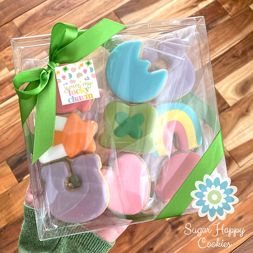 9 cookie gift box